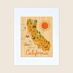 map fo california wall art - Yahoo Search Results Yahoo Image Search Results