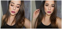 Bronze Glow Eye Makeup Tutorial | Stay All Day Makeup for Oily Skin | Eleni Lembesis