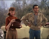 Gene Barry and Ann Robinson, George Pal, War of the Worlds.