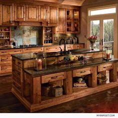 Are you looking for rustic kitchen design ideas to bring your kitchen to life? I have here great rustic kitchen design ideas to spark your creative juice. Country Kitchen Designs, Rustic Kitchen Design, Kitchen Country, Country Living, Rustic Design, Home Decor Country, Countryside Kitchen, Rustic Country Homes, English Countryside