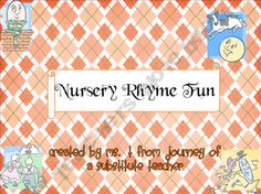 Nursery Rhyme Fun