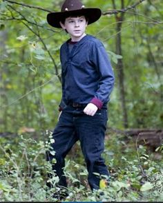LITTLE CHANDLER(R.I️.P. Carl Grimes, You'll be missed in the hearts of all true TWD fans and in the comics I️ guess ❤️)