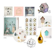 bird houses for the kids room | Flickr - Photo Sharing!