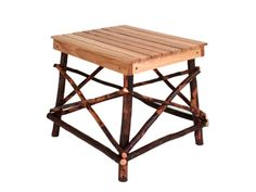 www.foothillsamishfurniture.com -- End Table -- This end table combines the beauty of the woods with the comfort of your living room. -- Do you want the beauty of the woods inside of your home? Repin if you do!