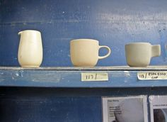 Heath ceramics factory tour. lovely.