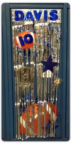Image result for football locker decorations