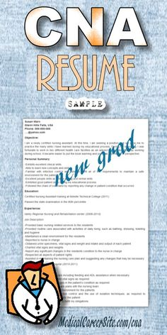 nursing assistant new graduate resume will need this in a few more weeks