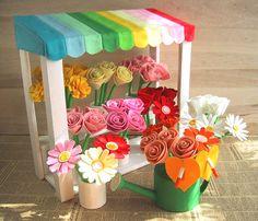 Pretty flower stall.