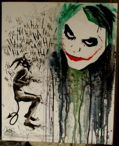 Joker by ~lora-zombie on deviantART
