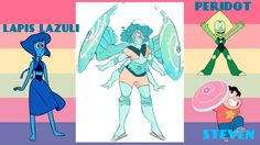 Epic fusion of lapis peridot and Steven!!