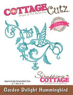 CottageCutz Garden Delight Hummingbird (Elites)