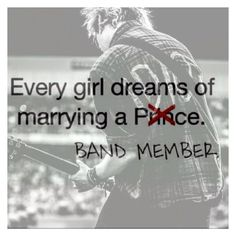 """Marry a prince or a band member hmmmm let me think.....I'LL GO FOR THE BAND MEMBER DUH!!!"" by kacismith ❤ liked on Polyvore"
