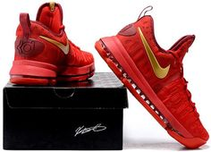online retailer e2ce8 841b5 Nike Zoom KD 9 Lmtd EP Mens Basketball shoes China red1 Kd 9, Nike Zoom