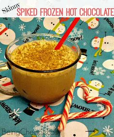 Being Cheap is Easy: Spiked Frozen Hot Chocolate {Plus a #Smoovember ...