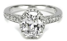 Blake Lively Engagement Ring Lookalikes!   Photo by: Tacori.com   TheKnot.com