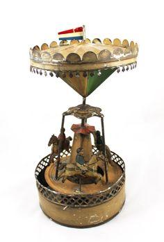 VERY RARE Antique Gunthermann Tin Wind Up door laBodegaAntiques