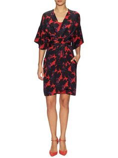 Geri Heavy Crepe De Chine Dress by Issa at Gilt
