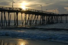 Pier at Avon North Carolina in the Outer Banks.  I must get back there some day