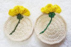 코바늘 티코스터(컵받침) : 네이버 블로그 Crochet Bouquet, Crochet Diagram, Crochet Accessories, Soap Making, Crochet Clothes, Doilies, Crochet Projects, Knit Crochet, Coasters