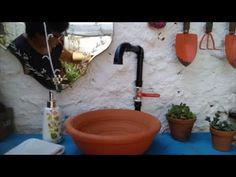 Sink, Youtube, Home Decor, Craftsman Bathroom, Industrial Bathroom, Hives Causes, Wood Bathroom, Solar Heater, Houses