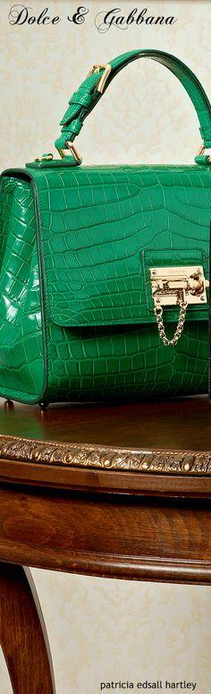 price of a birkin hermes - Dolce \u0026amp; Gabbana ~ Kelly Green Alligator Leather Bags 2016 ...