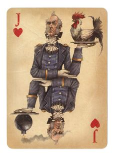 Fable Cards: Jack of Hearts - poker playing cards, deck of cards, card deck, unique playing cards, art of play cards, design play cards, cool playing cards, cardistry, jugando a las cartas, karty do gry, игральные карты, карты