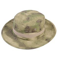 Airsoft Tactical Bucket Hat Men Camo Bucket Cap Outdoor Sports Wide Brim Boonie Hat Military Camping Hiking Fishing Caps Mens