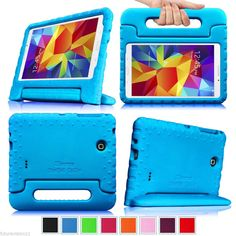 Samsung Galaxy Tab 4 7.0/8.0/10.1 inch Tablet Back Case Cover Kids Shock Proof #Fintie