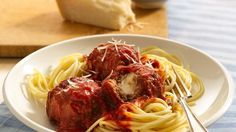 A new twist on an old favorite! Mozzarella tucked inside each meatball creates a forkful of flavor. Kids of all ages will dig in!