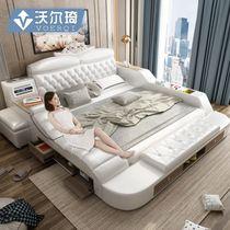 沃尔琦家居旗舰店 from Buy asian products online from the best shoping agent yoycart.com Bedding Master Bedroom, Bedroom Bed Design, Modern Bedroom, Bed Designs Latest, Double Bed With Storage, Tatami Bed, Wedding Bed, Bed Price, Leather Bed