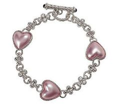 This is the most beautiful bracelet - it's by Judith Ripka thru qvc.com