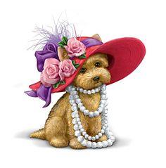 red hat puppy