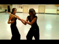 Great close quarter martial art for women!  Balintawak Escrima warm up Demo for Hayes Martial Arts.