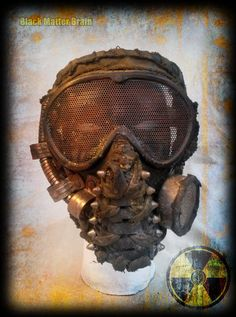 Post apocalyptic reaver mask - airsoft mask