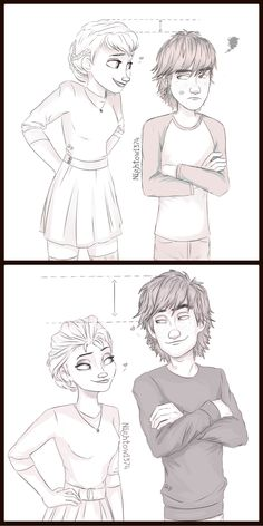 Ok so, I am head over heels for Jelsa and Mericcup. But I also like hiccelsa for some reason. Maybe it's the fanart.