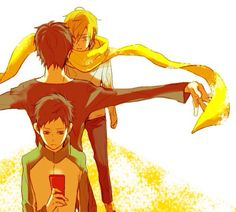 Mikado, Izaya and Kida