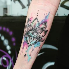tattoo-journal | 65 Spectacular Watercolor Tattoo Ideas for Unique People…