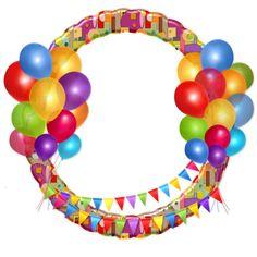 For birthday, balloons, banner Happy Birthday Cake Photo, Happy Birthday Frame, Birthday Frames, Happy Birthday Cards, Happy Birthday Calligraphy, Boarders And Frames, Ball Birthday Parties, Birthday Balloons, Birthday Clipart
