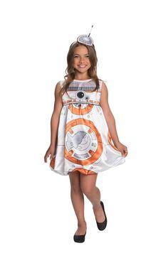 Halloween Star Wars The Force Awakens Child Romper Costume Girl s b3b42b58c9c6