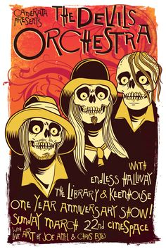 Devils Orchestra, The - Endless Hallway - Library, The - Keenhouse