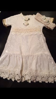 My second creation from the old 47 year old wedding dress