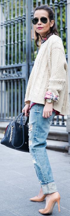 Ripped Jeans by Collage Vintage