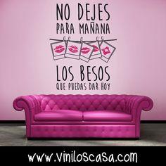Besos, besos y más besos ! - www.viniloscasa.com