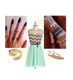 """""""Beach Date """" by annakilts on Polyvore"""