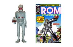 "ROM The Space Knight made its debut in 1979 and was one of Parker Brothers' first forays into products that were not board-game based. In its advertising, Parker Brothers referred to the toy as ""a micro-electronic creation"".  #parkerbrothers #vintagetoys"