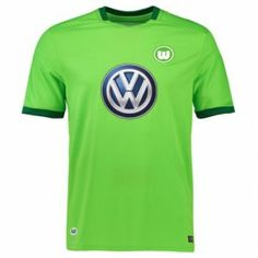 2017 Cheap Jersey Wolfsburg FC Home Replica Football Shirt 2017 Cheap Jersey  Wolfsburg FC Home Replica Football Shirt  6bb52d3ac1d4d