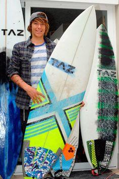 TAZ Tablas de surf 'made in Canarias'