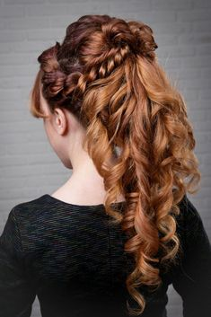 Exclusive Wedding Hairstyles Album. Still Looking For The Great Hairstyle For Your Special Event? Get Inspired By These Stunning Styles That Should Leave Every New Bride Tressed To Impress ! #'weddinghairstyles'