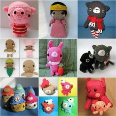 Ana Paula's Amigurumi Patterns & Random Cuteness