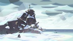 Background Illustration from cartoon networks show 'Steven Universe' Steven Universe Background, Steven Universe Wallpaper, Universe Love, Universe Art, Cartoon Background, Animation Background, Cartoon Network Shows, Episode Backgrounds, Landscape Concept
